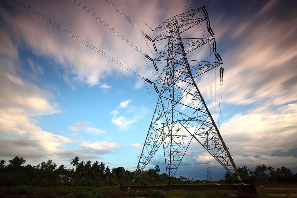 elektrické stlpy