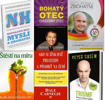 najlepšie motivačné knihy